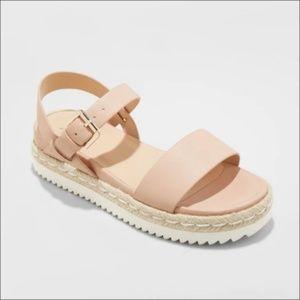 Shoes - Rianne Espadrille Ankle Strap Sandals